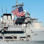 Ticonderoga-class guided-missile cruiser USS Chosin (CG 65) arrives to its homeport of Joint Base Pearl Harbor-Hickam following a deployment...