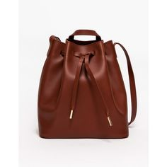 PB 0110 Bucket Bag in Cognac and other apparel, accessories and trends. Browse and shop 1 related looks.