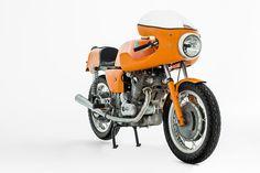 Gorgeous in orange Laverda 1971