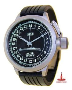 Black Submarine watch