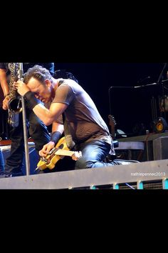 Bruce Springsteen -  their really is nothing quite like seeing the Boss and his band live.  Incredible!