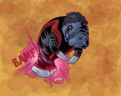 X-Manatees: The X-Men as Manatees (8 Pics)