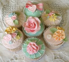 Shabby chic collection by Icing Bliss, via Flickr