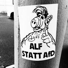 ➡ Es gab in meinem Leben immer etwas das mir half. Wenn ich mal nicht mehr weiter weiß schau ich ne Folge ALF.  #fcknzs #fckafd #keinmenschistillegal #keinbockaufnazis #nazisraus #gegennazis #gegenrassismus #keinplatzfürnazis #antifa #rosaluxemburg #nazihunter #161crew #dielinke #linksjugendsolid #linksjugend #linksjugendstralsund #stralsund #welcomerefugees #flüchtlingewillkommen #antifaschistischeaktion #goodnightwhitepride #refugeeswelcome #stopwars #weltfrieden #makelovenotwar #karl...