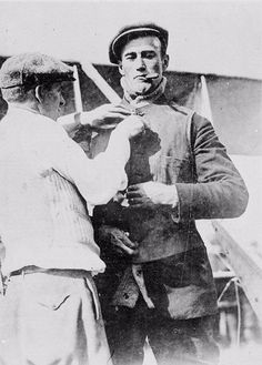 Calbraith Perry Rodgers had a notable Navy heritage, but was drawn to the sky instead of the sea. Rodgers was the first airborne advertiser, one of the first long-distance airplane record setters, and an instant aviation star whose life was cut short.  He was killed April 3, 1912 in an accident during a test flight of his Wright Model B.