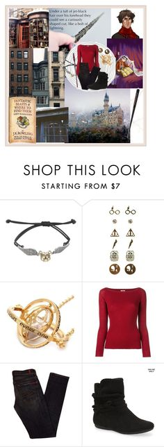 """""""Fantastic Beasts and where to find them"""" by smellypie ❤ liked on Polyvore featuring Warner Bros., Nude, 7 For All Mankind and Aéropostale"""