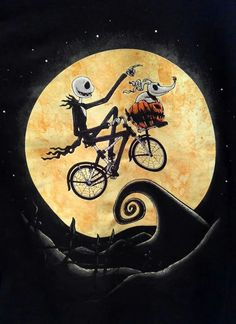 *JACK SKELLINGTON & ZERO ~ The Nightmare Before Christmas, 1993