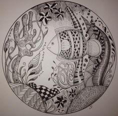 Art Room Blog: Zentangle Retreat....2016
