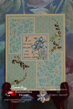 Sammibug's Scrapshack: You're In My Thoughts And Prayers