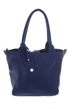 Bags :: Lily Reversible Shoulder Bag Royal Blue & Black - The Redletter Club $99.99