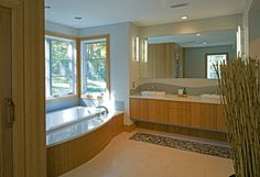 natural haven - modern - bathroom - dc metro - Brennan + Company Architects