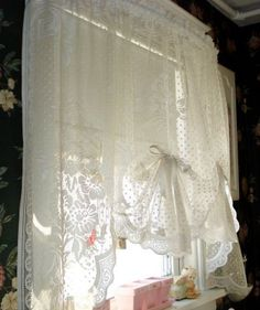 French Country Lace Curtains French Country Cottage