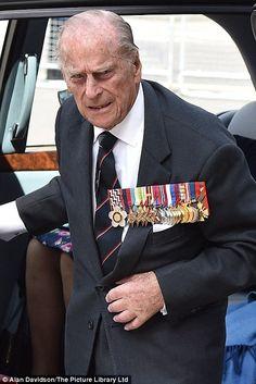 The Duke of Edinburgh, Prince Philip.  May 10, 2015. Age 93.