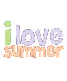 Free Summer Clipart to use for party decor, crafts, school, websites and more!