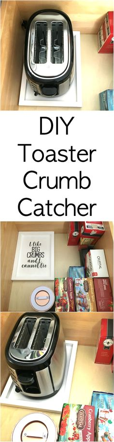 What a great idea! My toaster gets crumbs everywhere. This will really help me prevent messes.
