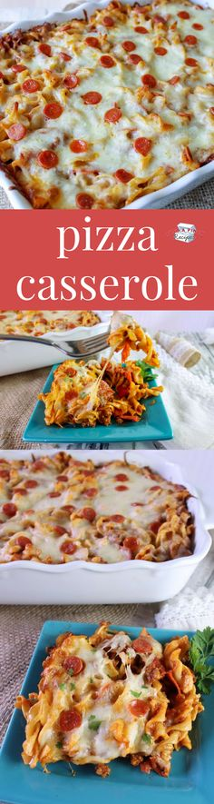 Pizza Casserole is a