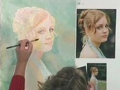 http://www.cheapjoes.com     Suzanna Winton takes the viewer through the six steps of painting a watercolor portrait: applying the background, intensifying the color, establishing the features, applying the darks, mid-tones and finishing touches. Included with the video is a full-face photo and life-size line drawing to help the advanced beginne...