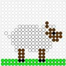 Kralenplankjes dieren - boerderijdieren ~ Juf Milou Seed Bead Jewelry, Seed Beads, Beaded Jewelry, Diy Perler Beads, Melting Beads, Bible Crafts, Bead Art, Pearl Beads, Pixel Art