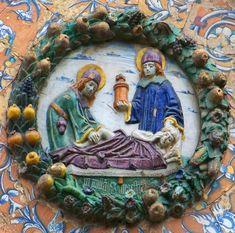 Niculoso Pisano: San Cosme y San Damián. Monasterio de Santa Paula, Sevilla (1504)