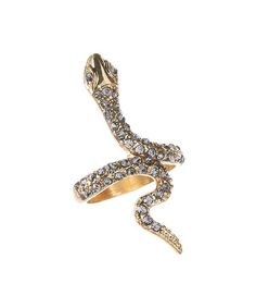 $7.99 Another great find on #zulily! Goldtone Snake Ring #zulilyfinds