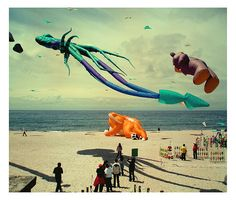 Fly one of these kites with E