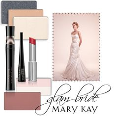 Glam Bride by marykayus on Polyvore featuring beauty and Mary Kay www.marykay.com/jpatrick2027