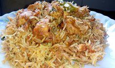 Chicken Tikka Biryani by Soumali