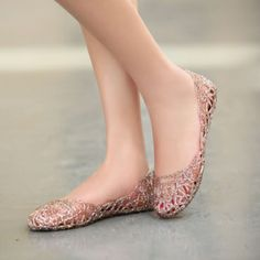 USD9.99Casual Round Toe Closed Pink Basic Low Heel Flats