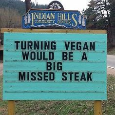 Someone in Colorado is putting the funniest signs ever, and the puns are priceless PIN it on if this made you smile! Haha Funny, Funny Jokes, Hilarious, Funny Stuff, Dad Jokes, Twisted Humor, Funny Signs, Just For Laughs, Laugh Out Loud