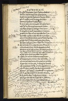 Not All Greek: Mystery Script in Rare Copy of Homer's 'Odyssey' Solved - NBC News