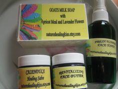 ORGANIC HEALING Gift Bag organic salve by NaturesHealingKiss