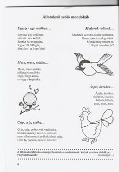 Zsuzsi tanitoneni - Google+ Kindergarten Crafts, Preschool Activities, Stories For Kids, Poems, Album, Sign, Animals, Animales, Stories For Children