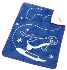 Rätt Start Filt Pingu Blå