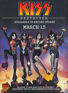Insect Invaders Repelled by Rock Music Pop Rocks, Music Love, Rock Music, 70s Music, Mtv, Kiss Memorabilia, Kiss Concert, Tour Posters, Music Posters