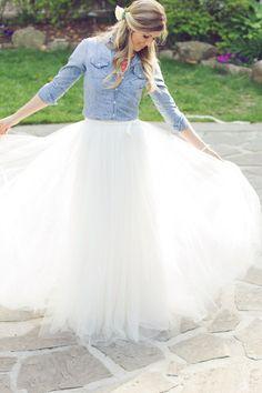 おしゃれ花嫁コーデ*白いチュールの花嫁衣装・ウェディングドレスのまとめ一覧です♡