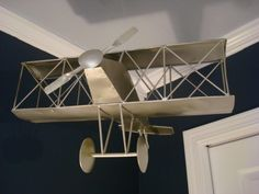 Been wanting to hang an airplane in his current truck/airplane room.