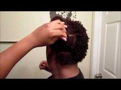 Kinky Curly Curling Custard on Short 4c/4b Hair [Video] - Black Hair Information Community