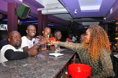 "PHOTOS: Singer ""Liane Nakaweesi"" thrills revelers at Space Lounge 'Celebrity Bar storm'"