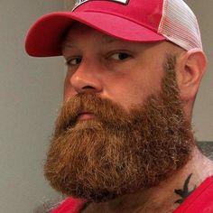 Amazing Beard Styles from Bearded Men Worldwide Badass Beard, Epic Beard, Full Beard, Ginger Men, Ginger Beard, Great Beards, Awesome Beards, Beard Styles For Men, Hair And Beard Styles