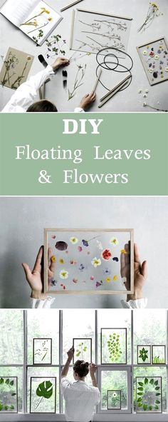 Great DIY Floating Leaves and Flowers | Give any room a fresh look with these simple decor crafts. The post DIY Floating Leaves and Flowers | Give any room a fresh look with these simple d… appeared first on Home Decor Designs 2018 .