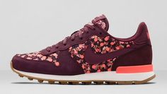 Nike Internationalist x Liberty Of London 'Burgundy' post image                                                                                                                                                                                 Plus
