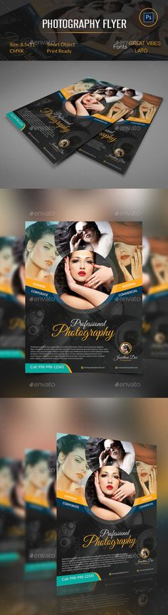 886 Best Photography Flyer Design images Photography flyer, Flyer