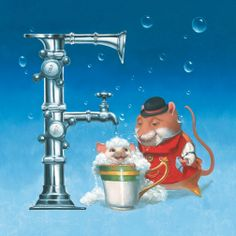 F is for Faucet
