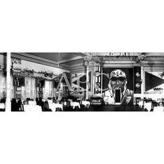 1928 EL GRAN COMEDOR DE GALA DEL CASINO DE SAN SEBASTIÁN PREPARADO PARA LA FIESTA DEL AUTOMÓVIL: Descarga y compra fotografías históricas en | abcfoto.abc.es