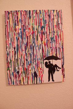 Bajo una lluvia de pintura