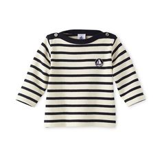Baby sailor shirt in heavy jersey