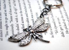 Dragonfly Keychain by KellyStahley on Etsy, $12.00