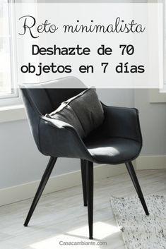 Reto de Declutter minimalista. Deshazte de 70 objetos en 7 días