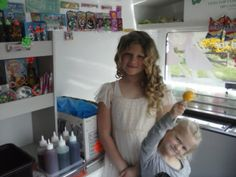 Birthday girl can take pictures inside ice-cream van or even make her own ice-cream or SLUSH PUPPIE Slush Puppy, Ice Cream Van, Cold Drinks, Girl Birthday, Puppies, How To Make, Pictures, Photos, Cubs
