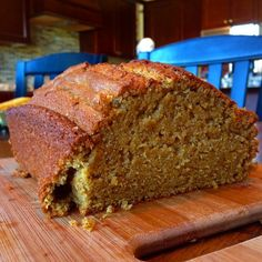PUMPKIN SPICE BREAD. Vegan, Dairy-free, super moist and delicious. The perfect fall treat.